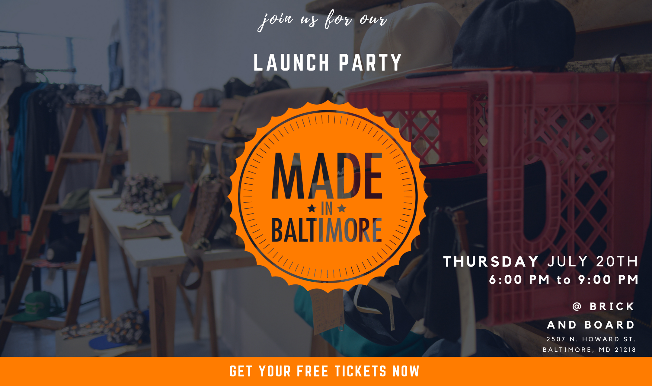 Case Study Made in Baltimore - Orange Moon Media